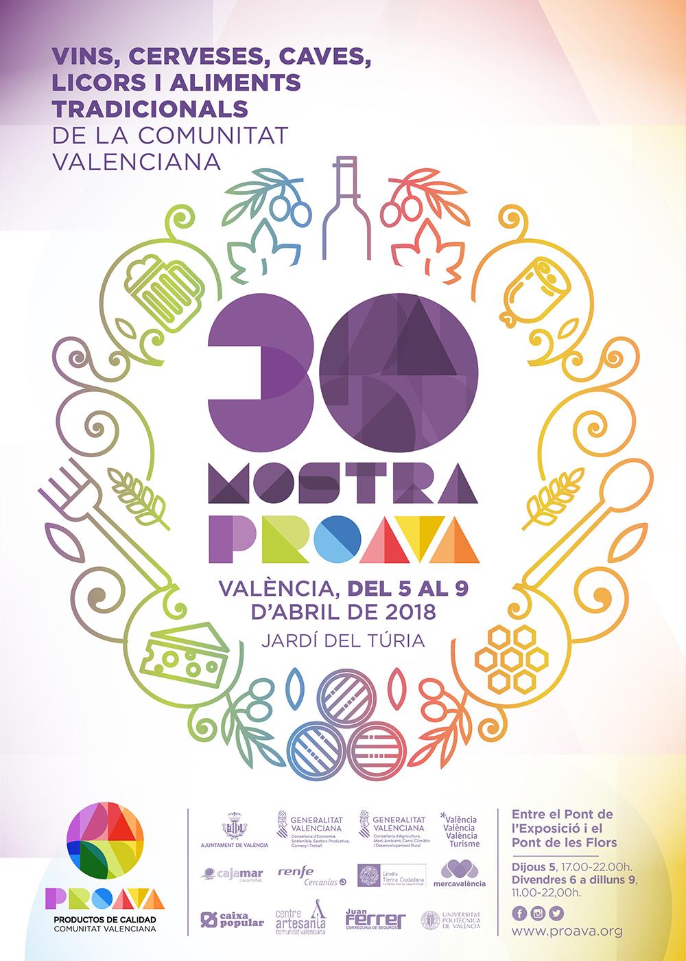 cartel-30-mostra-vinos-alimentos-comunidad-valenciana