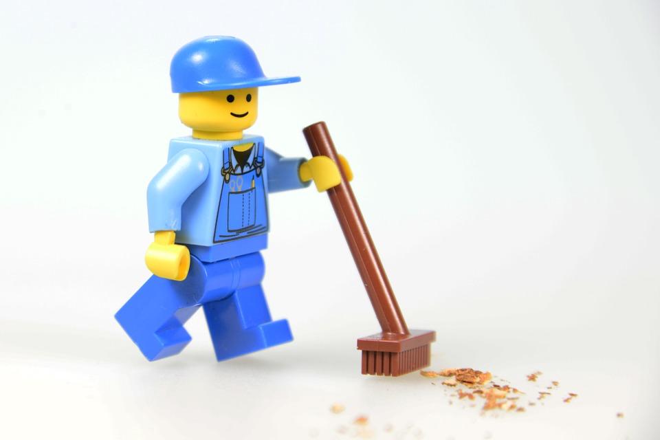 Work Lego Males Legomaennchen Return Workers